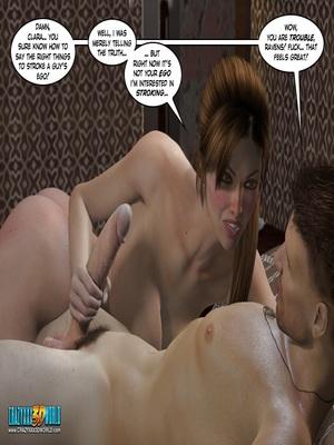 3D Porn Comics Clara Ravens 3- In The Past Porn Comic 41