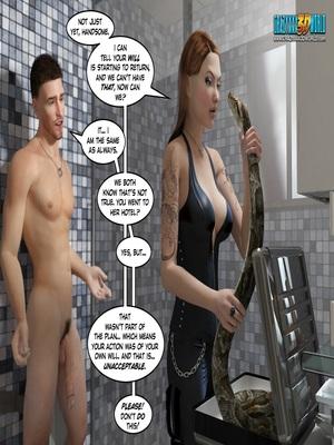 3D Porn Comics Clara Ravens 3- In The Past Porn Comic 66