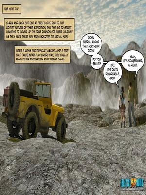 3D Porn Comics Clara Ravens 3- In The Past Porn Comic 80