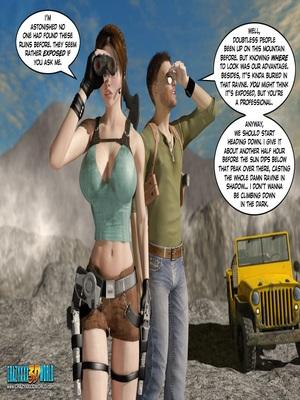 3D Porn Comics Clara Ravens 3- In The Past Porn Comic 81