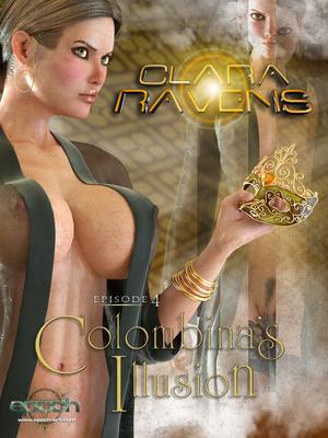 Porn Comics - 3D : Clara Ravens 4- Colombina's Illusion Porn Comic