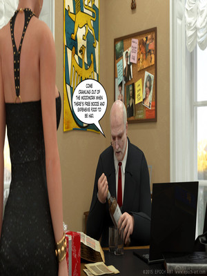 3D Porn Comics Clara Ravens 4- Colombina's Illusion Porn Comic 145