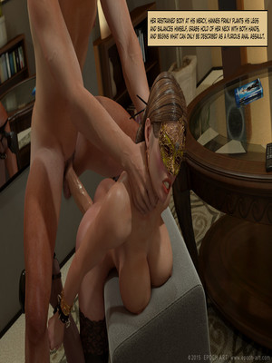 3D Porn Comics Clara Ravens 4- Colombina's Illusion Porn Comic 374