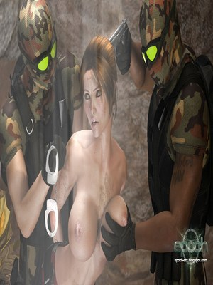 3D Porn Comics Clara Ravens vs. Mercenaries Porn Comic 08
