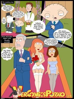 Incest Comics Croc-Baby's Play 6 The Wedding- Family Guy Porn Comic 04
