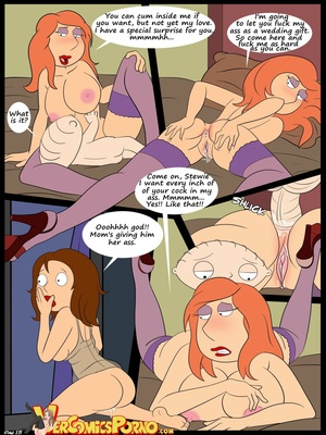 Incest Comics Croc-Baby's Play 6 The Wedding- Family Guy Porn Comic 16