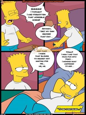 Croc- Simpsons – Old Habit 8 free Porn Comic