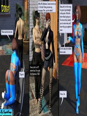 3D Porn Comics CrystalImage- Classic Silke 4- New Horizons Porn Comic 10