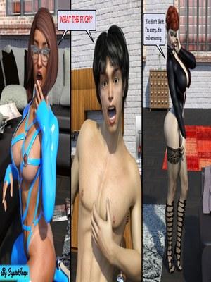 3D Porn Comics CrystalImage- Classic Silke 4- New Horizons Porn Comic 14