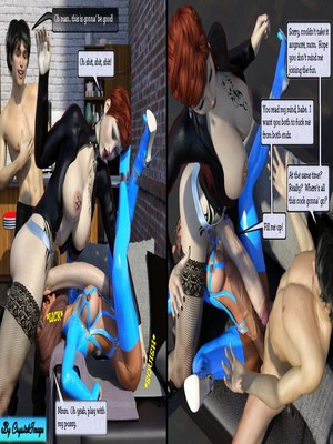 3D Porn Comics CrystalImage- Classic Silke 4- New Horizons Porn Comic 17