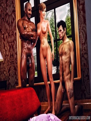Porn Comics - 3D : Cuckold Husband Initiation- Interracialsex3d Porn Comic