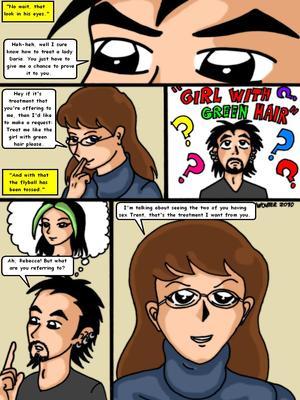 Adult Comics Daria I Trust You Porn Comic 14