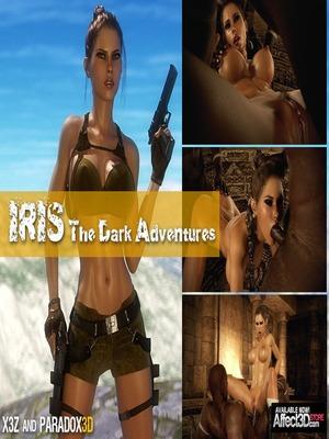 3D Porn Comics Dark Adventures- HitmanX3Z – Iris Porn Comic 01