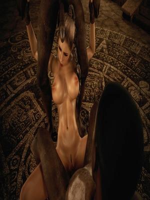 3D Porn Comics Dark Adventures- HitmanX3Z – Iris Porn Comic 35