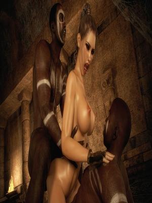 3D Porn Comics Dark Adventures- HitmanX3Z – Iris Porn Comic 54