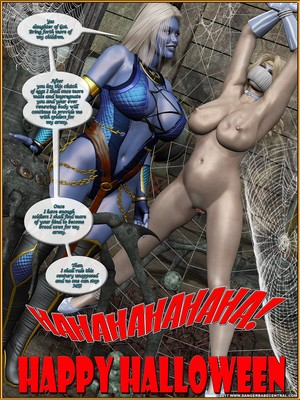 DBC- The Spider Queen Returns free Porn Comic