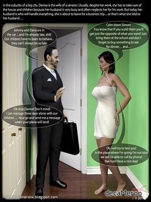 Porn Comics - 3D : Decameronx- The Initiation Of Denise [Lust Hunters] Porn Comic