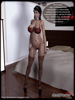 3D Porn Comics Decameronx- The Initiation Of Denise [Lust Hunters] Porn Comic 04
