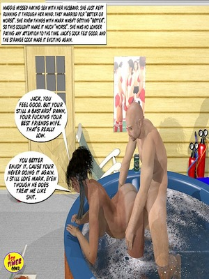 Incest Comics Divorced Mother- Udder Madness 2 Porn Comic 19