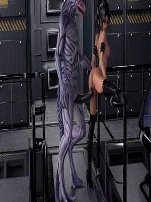 3D Porn Comics DizzyDills- DNA Sample Porn Comic 13