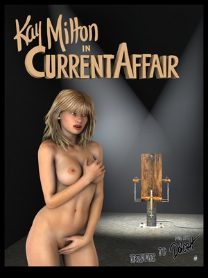 Porn Comics - Dolcett- Kay Milton in Current Affair free Porn Comic