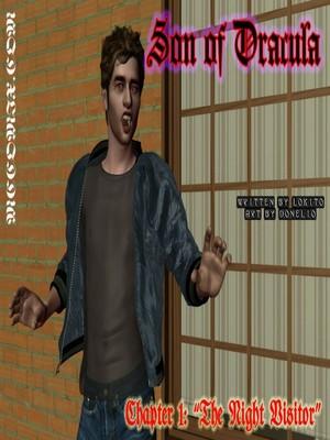 Donelio- Son of Dracula 1-6 free Porn Comic thumbnail 001