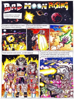 Furry Comics Dragon Ball- Bad Moon Rising Porn Comic 01