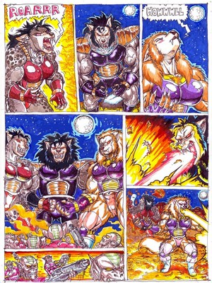 Furry Comics Dragon Ball- Bad Moon Rising Porn Comic 03