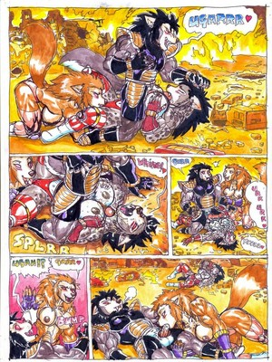 Furry Comics Dragon Ball- Bad Moon Rising Porn Comic 07