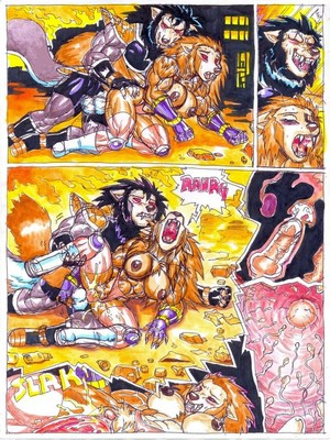 Furry Comics Dragon Ball- Bad Moon Rising Porn Comic 09