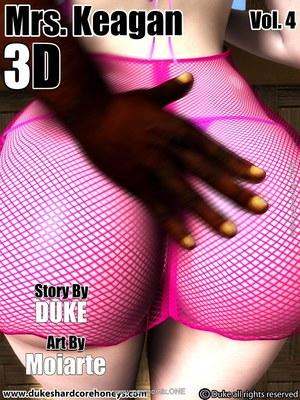 Porn Comics - 3D : Dukeshardcore Honey- Mrs. Keagan 3D Vol.4 Porn Comic