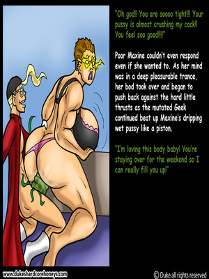 DukesHardcore Honey- Power Max 5 free Porn Comic sex 10