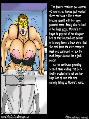 DukesHardcore Honey- Power Max 5 free Porn Comic sex 11