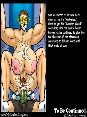 DukesHardcore Honey- Power Max 5 free Porn Comic sex 13