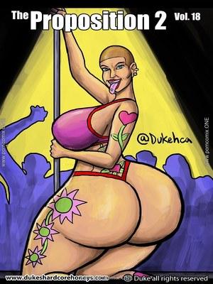 Porn Comics - Interracial : Dukeshardcore Honey- The Proposition 2 Vol.18 Porn Comic