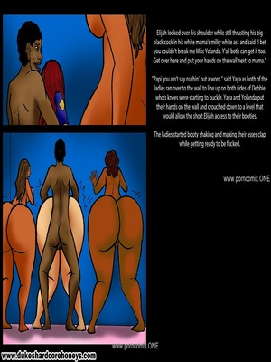 Interracial Comics Dukeshardcore- I Love My Black Son Vol.8 Porn Comic 06