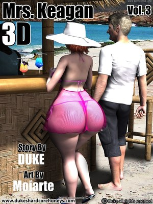 Interracial Comics Dukeshardcore- Mrs. Keagan 3D Vol.3 Porn Comic 01
