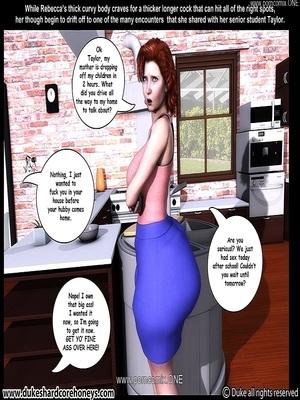 Interracial Comics Dukeshardcore- Mrs. Keagan 3D Vol.3 Porn Comic 30