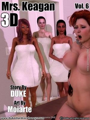 Porn Comics - 3D : DukesHardcore- Mrs. Keagan 3d Vol.6 Porn Comic