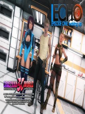 3D : Echo Ep.1- Waking up, Crazyxxx3D World Porn Comic thumbnail 001
