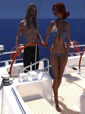 Porn Comics - 3D : Eclesi4stik- Triss's Summer Porn Comic