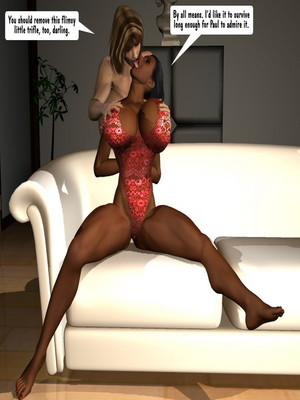 3D Porn Comics Entropy- Ladies in Heat Porn Comic 05