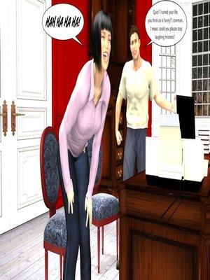 3D Porn Comics [Erismanor] Chief- Bride- Maid Porn Comic 06