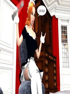 3D Porn Comics [Erismanor] Chief- Bride- Maid Porn Comic 12