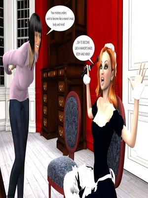 3D Porn Comics [Erismanor] Chief- Bride- Maid Porn Comic 16
