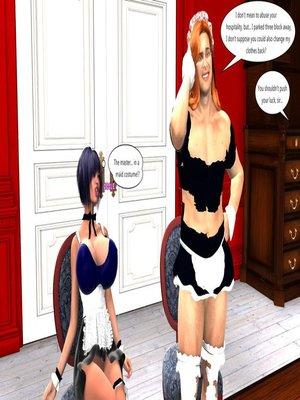 3D Porn Comics [Erismanor] Chief- Bride- Maid Porn Comic 36