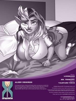 Adult Comics Expansion Fan- Alien Desires Porn Comic 02