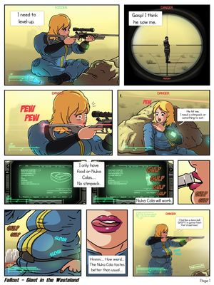 Porn Comics - Fallout- Giant In The Wasteland free Porn Comic