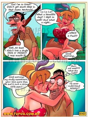 Porncomics Familia Caipira 8- There's A Fox In The Henhouse Porn Comic 12