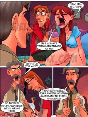 Incest Comics Family Sacana- Naughty Home- Red Signal Porn Comic 06